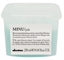 MINU/hair mask - Восстанавливающая маска для окрашенных волос 250 ml