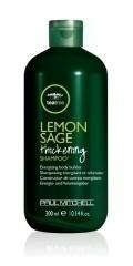 Lemon Sage Thickening Shampoo 300ml (Шампунь укрепляющий с маслом чайного  дерева, экстрактами шалфе