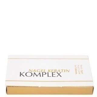 Кератиновый комплекс для ногтей (Nagel Keratin Komplex), 5 ампул