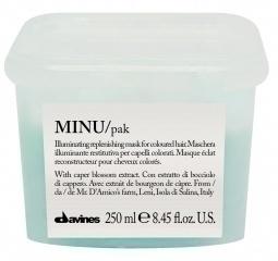 MINU/hair mask - Восстанавливающая маска для окрашенных волос 250 ml