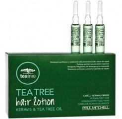 Tea Tree Hair Lotion (Лосьон для волос с маслом чайного дерева) 12 ампул/6 ml